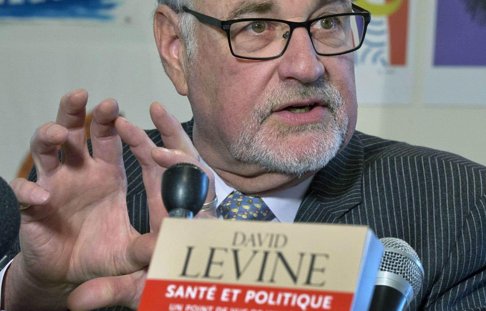 David Levine raconte son expérience de gestionnaire et propose des solutions pour améliorer le système de santé québécois dans son livre «Santé et politique, un point de vue de l'intérieur», publié chez Boréal.