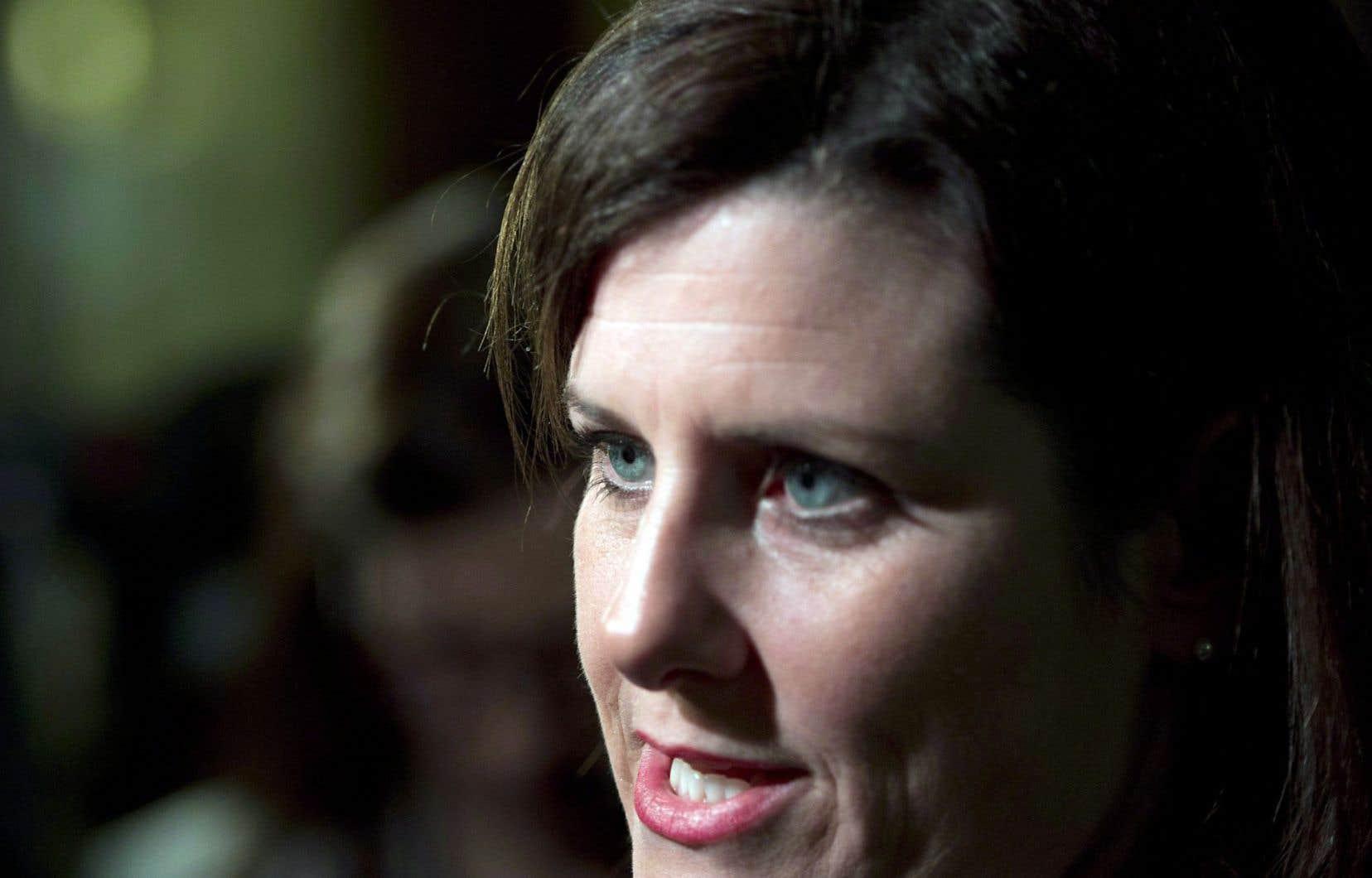 La ministre Stéphanie Vallée insiste sur la «liberté de choix».