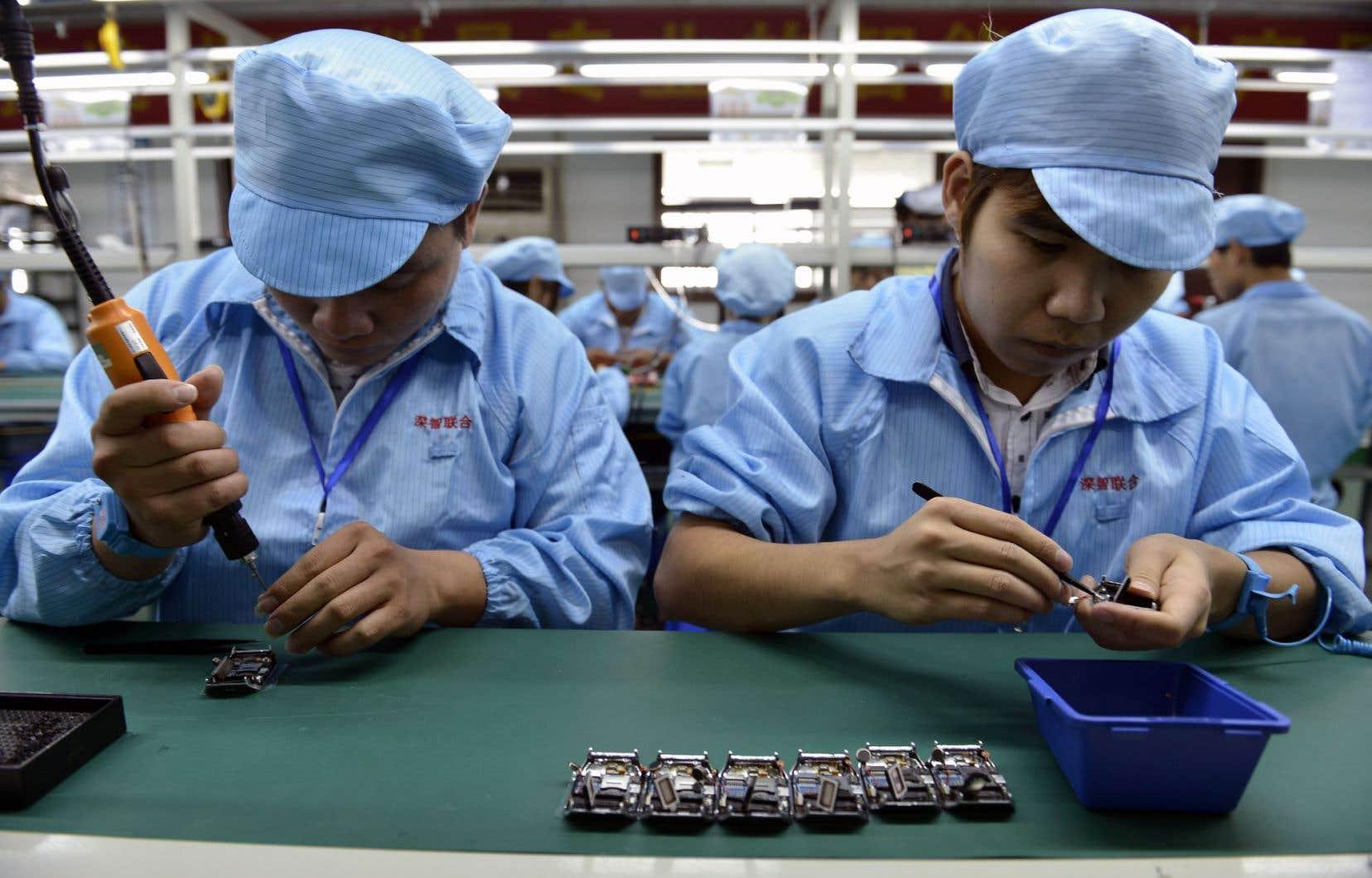 Au rythme où vont les choses, la productivité de la Chine égalera celle du Québec dans moins d'une dizaine d'années.