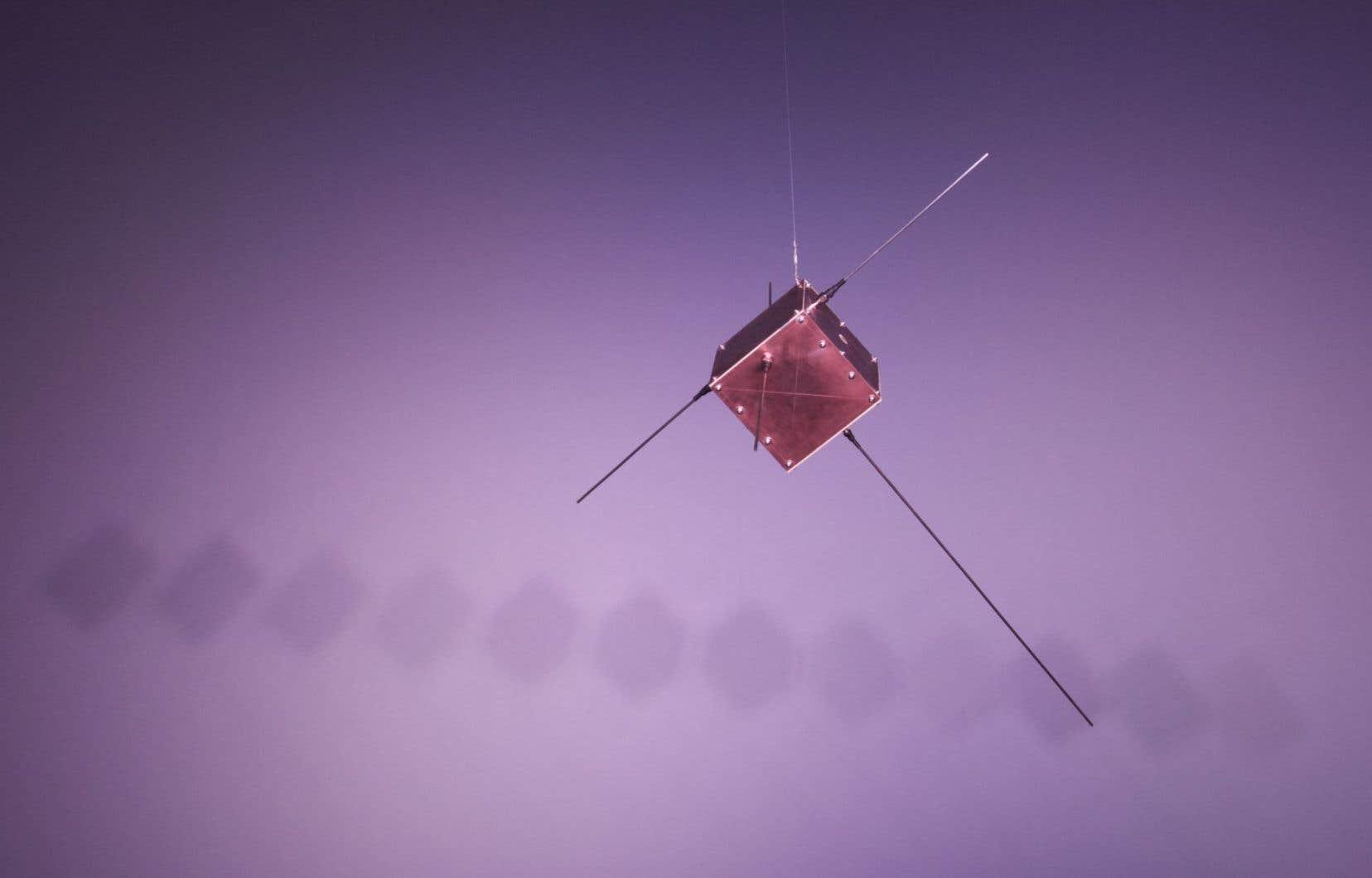 «Simulation d'un vol orbital (détail)»