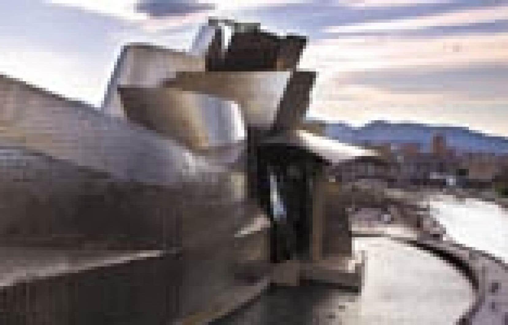 Le musée Guggenheim de Bilbao.
