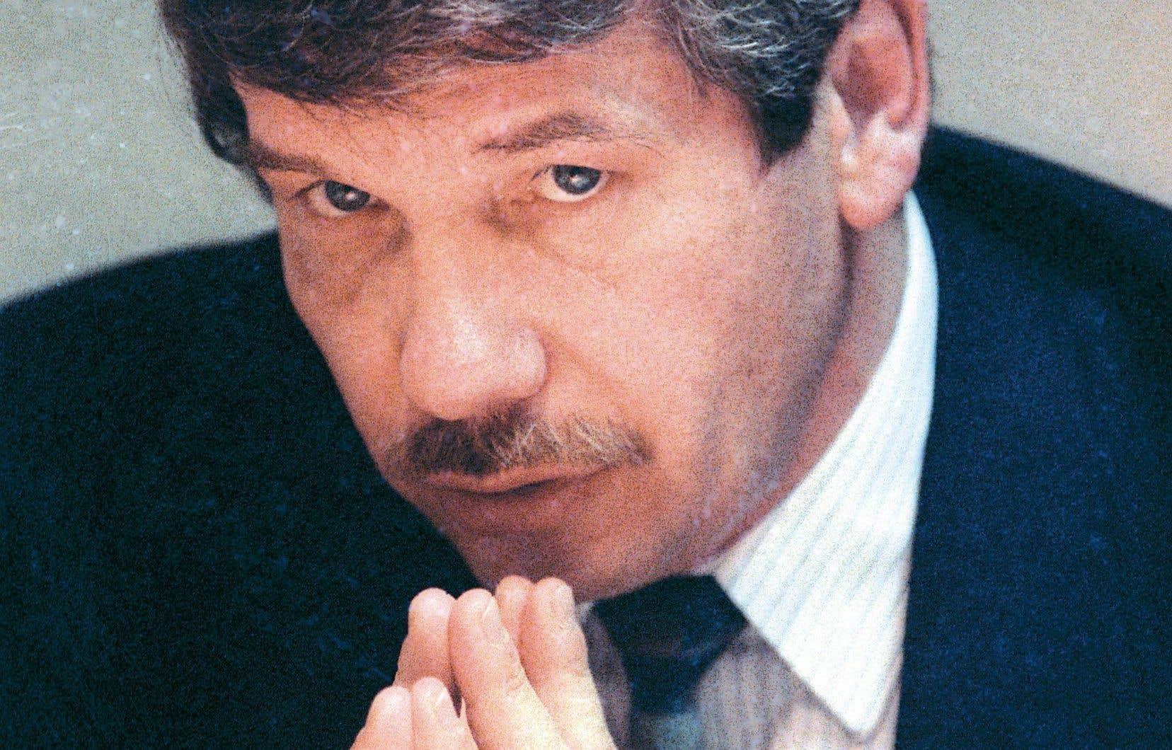 Jean Doré, en 1993. Le successeur de Jean Drapeau a été le maire de la Ville de Montréal de 1986 à 1994.