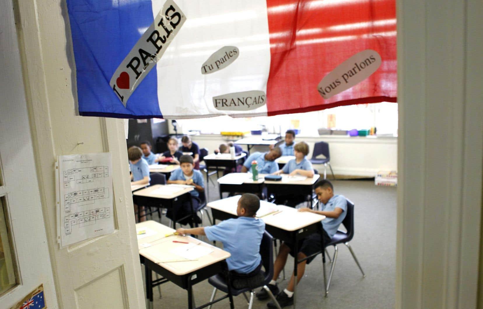 Offerts depuis 1983, les programmes d'immersion, inspirés du modèle canadien, permettent aux élèves d'apprendre non pas le français, mais bien «en» français, dans une proportion variant de 50 à 60% de leur formation.