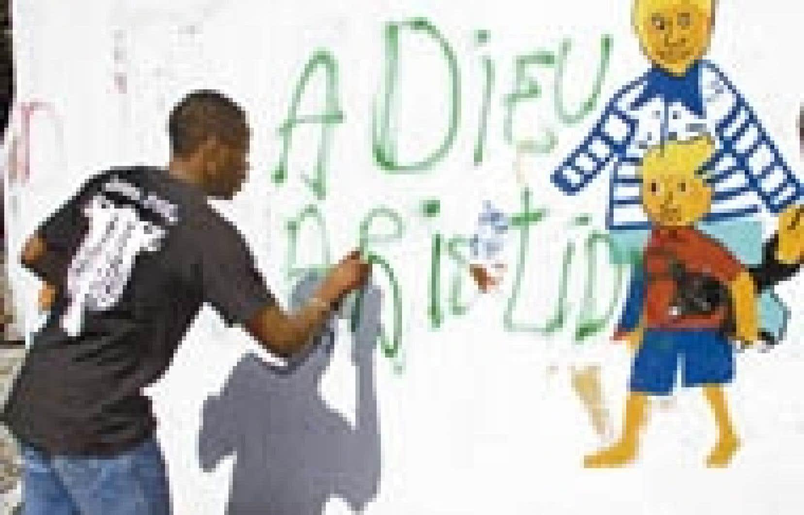 Un message clair et net: Aristide doit partir!