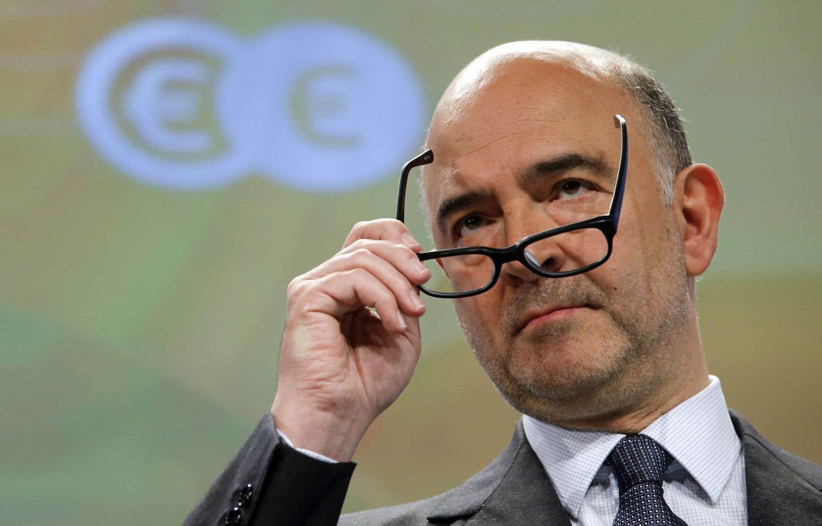 Pierre Moscovici, commissaire à la Fiscalité