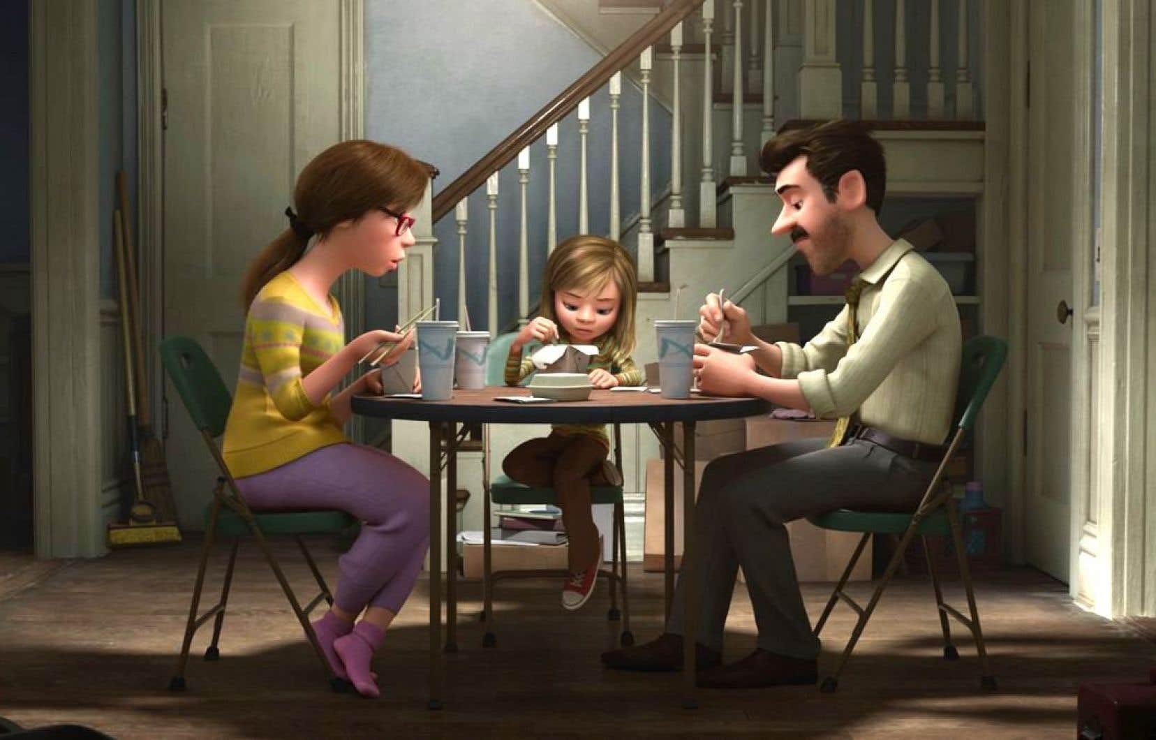 «Inside Out», le plus récent film de Pixar, est une odyssée fantastique haute en couleurs qui traite de façon ludique du passage à l'adolescence.