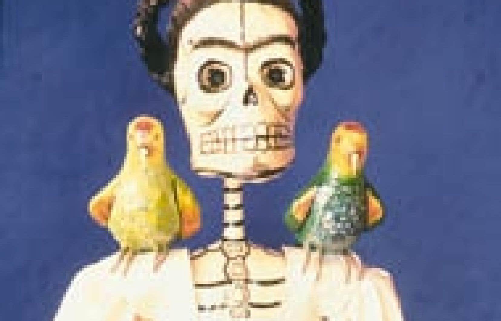 Offrande pour le Día de los muertos. Au Musée Frida Kahlo. — Photo: Office de tourisme de Mexico