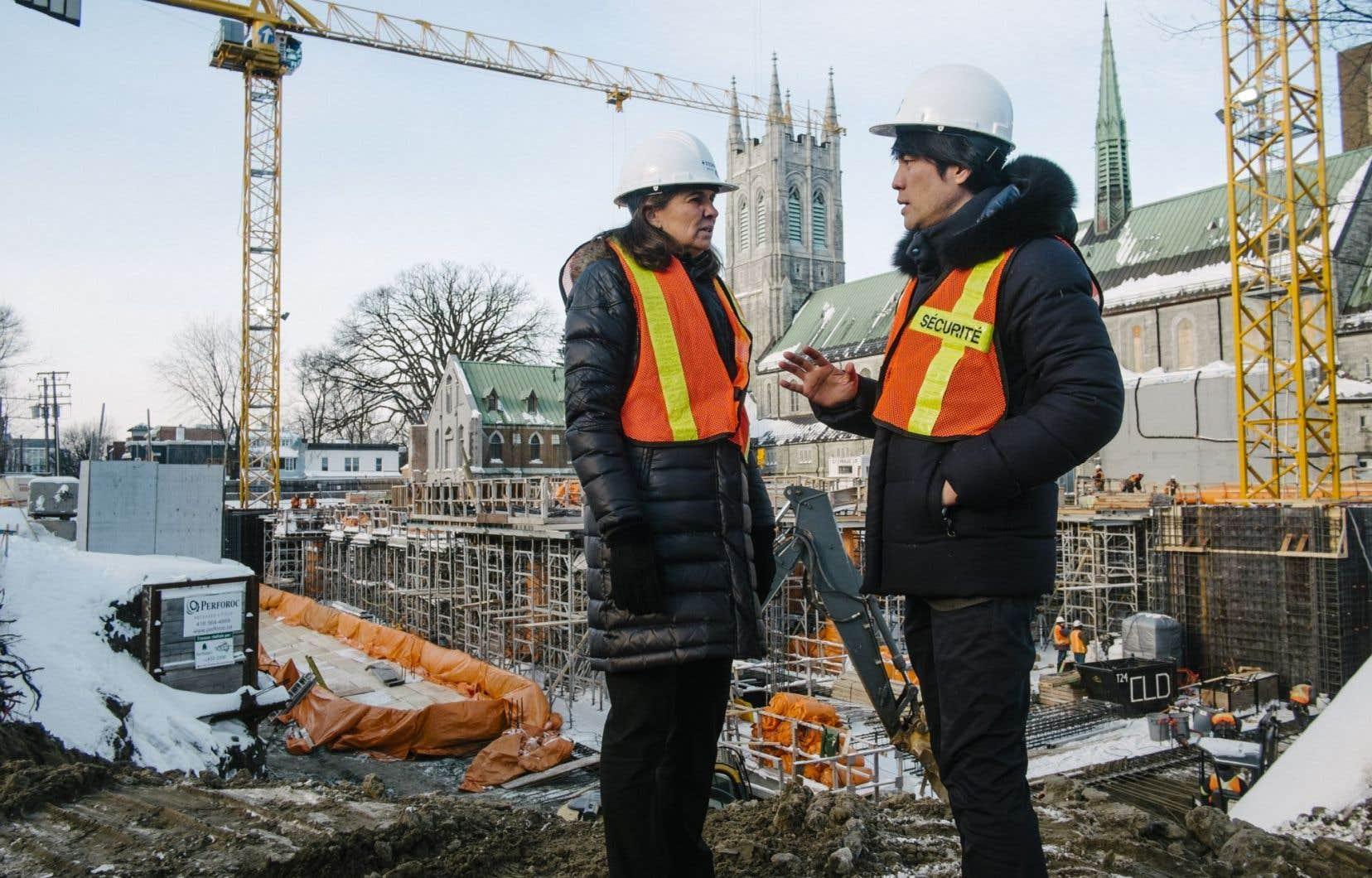 Un nouveau pavillon du Musée national des beaux-arts du Québec, toujours en construction, accueillera l'exposition dite centrale de la prochaine édition de la Manif d'art.