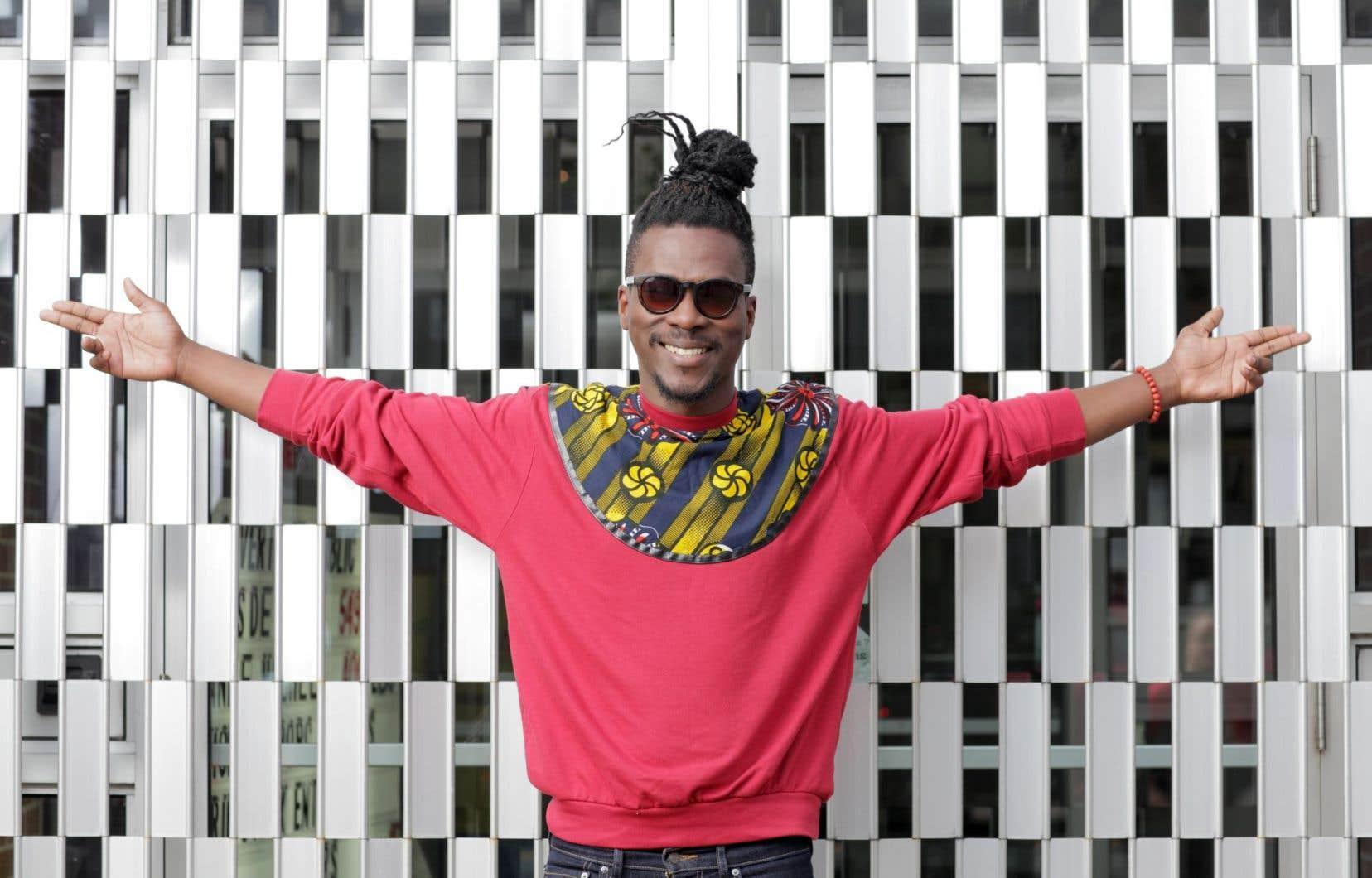 Pierre Kwenders, Québécois d'origine congolaise, sera de la fête avec son afrobeat teinté d'électro et de rumba congolaise.