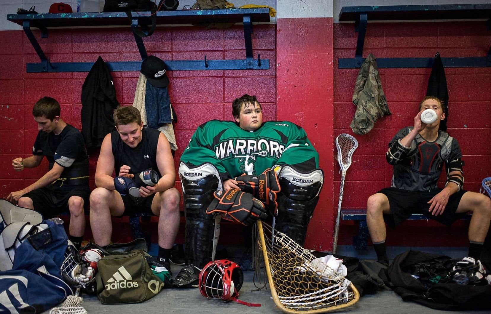 Les « warriors » sont maintenant joueurs de crosse... ou entrepreneurs sociaux.