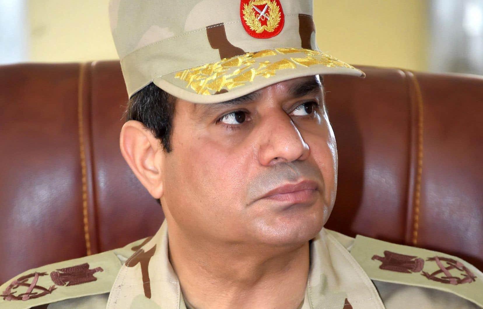 Le président égyptien, Abdel Fattah al-Sissi