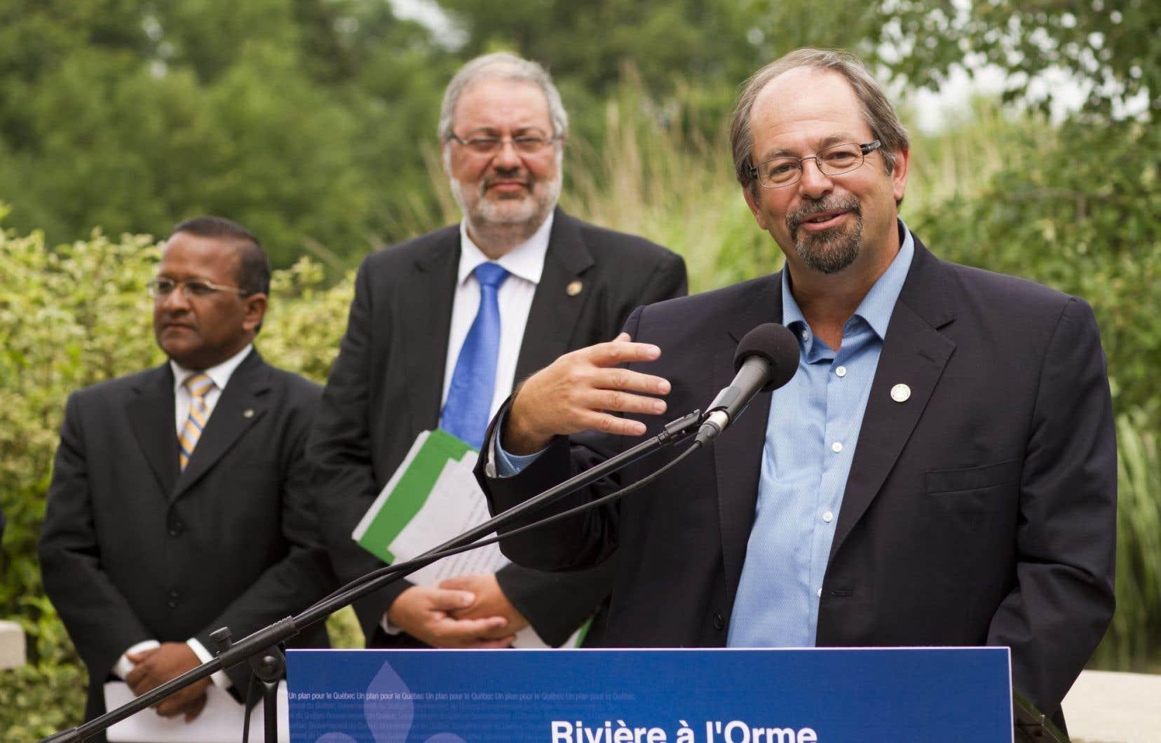 M. Kelley s'explique mal la levée de boucliers des Innus de Nutashkuan. Les négociations entre la nation innue et le gouvernement du Québec vont <em>«bon train»</em>, dit-il.