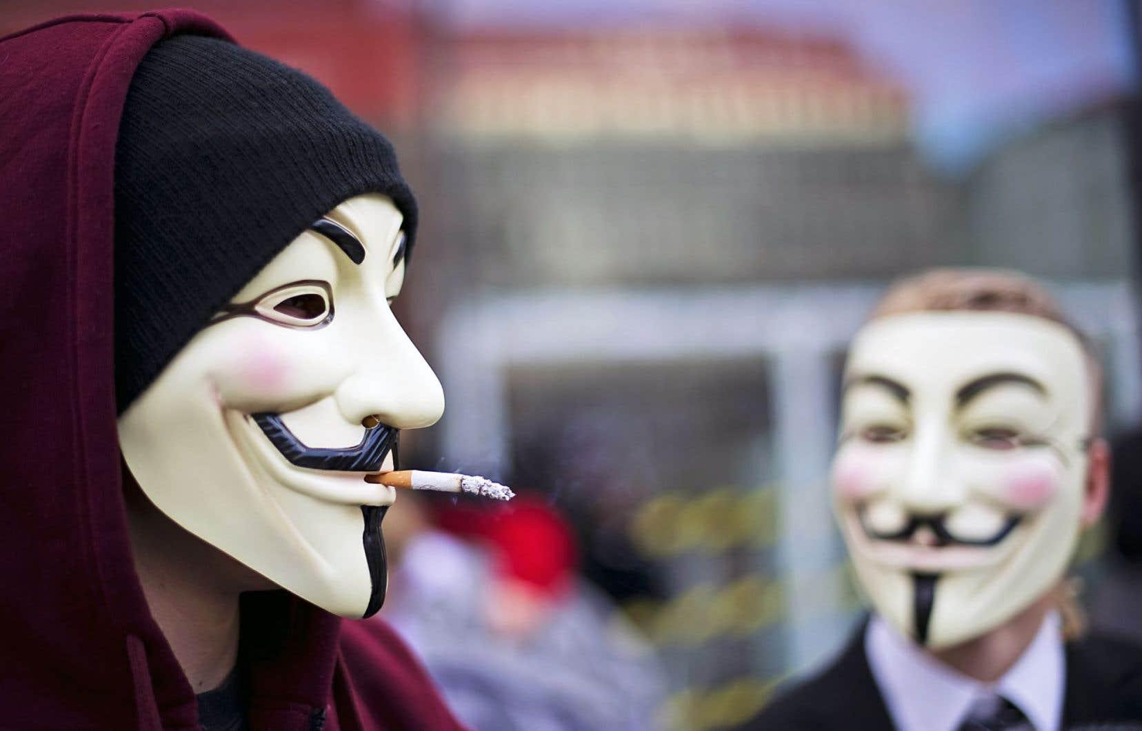Le groupe Anonymous pourrait être derrière la cyberattaque.