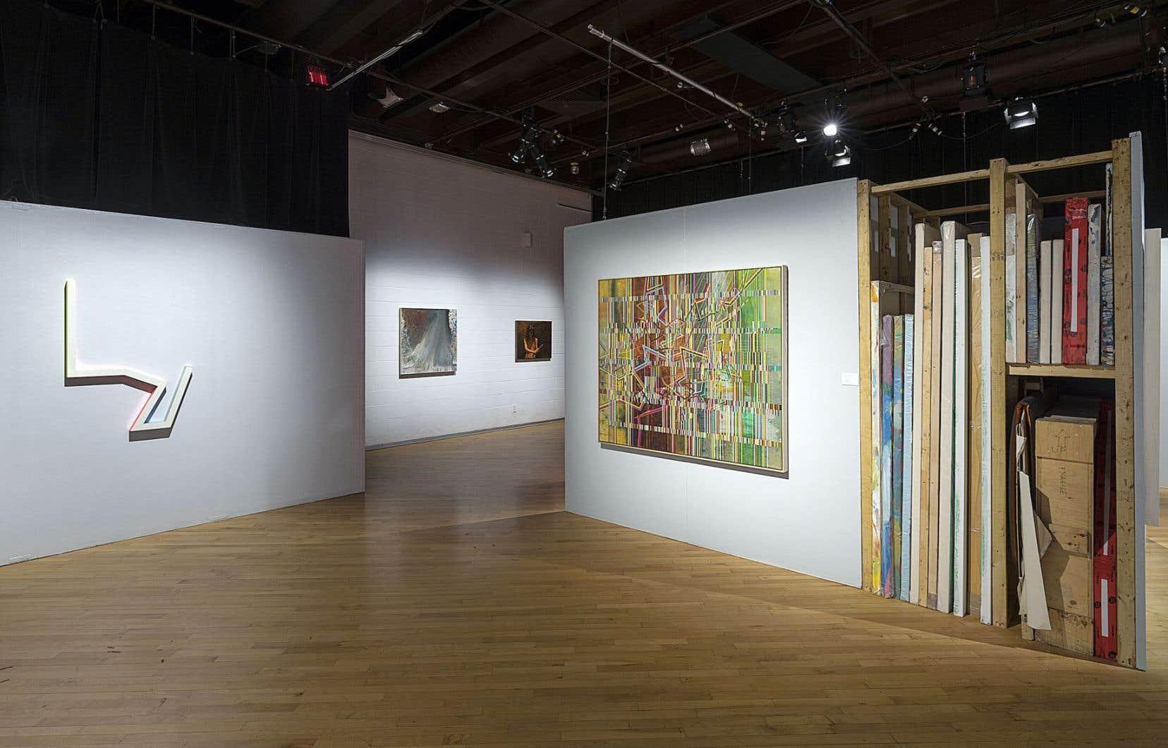 Vue de l'exposition «Les Apartés (les maximalistes)»