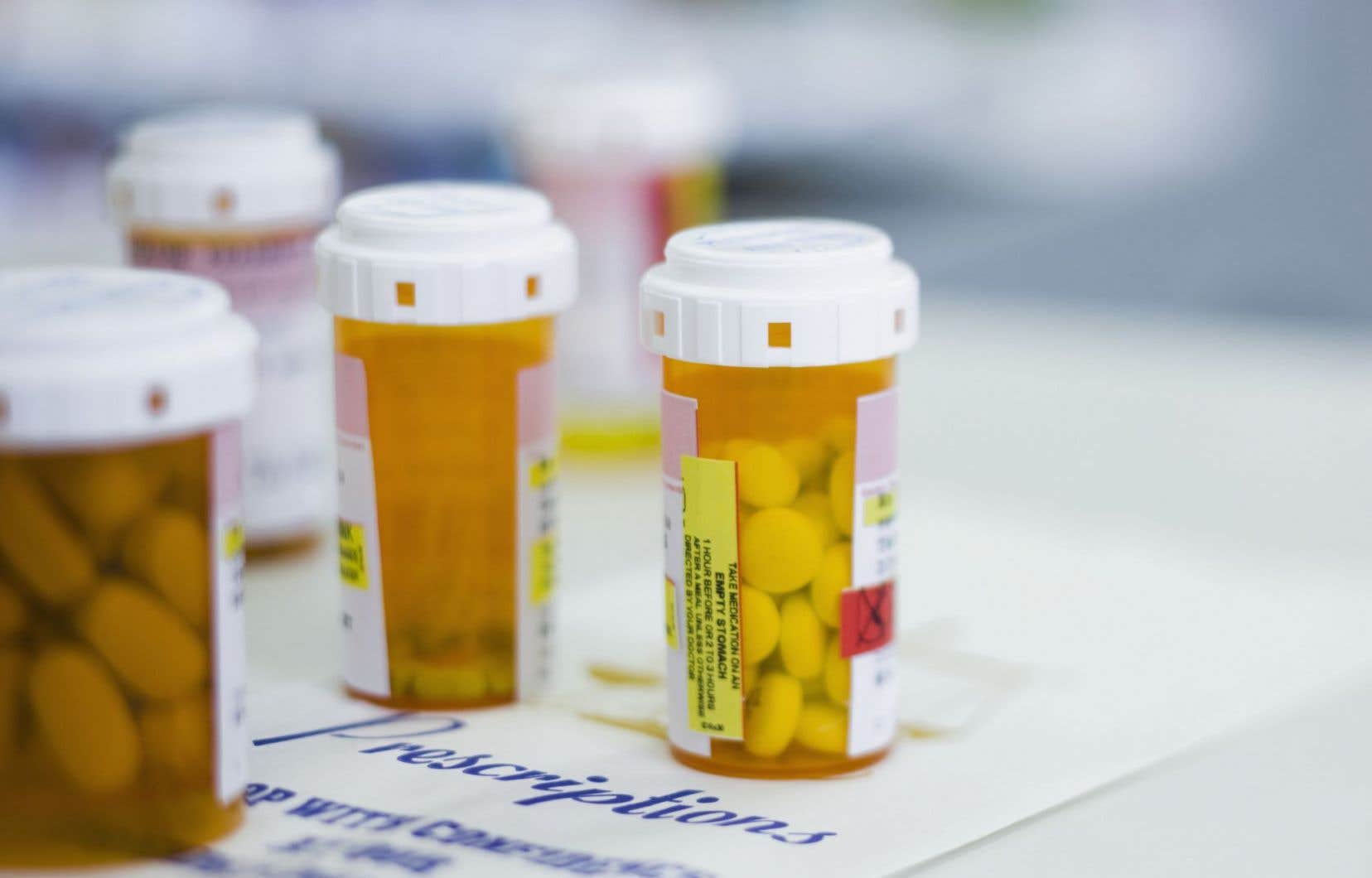Il y a 20 ans, les adultes n'étaient à l'origine que d'une prescription sur dix au Québec.