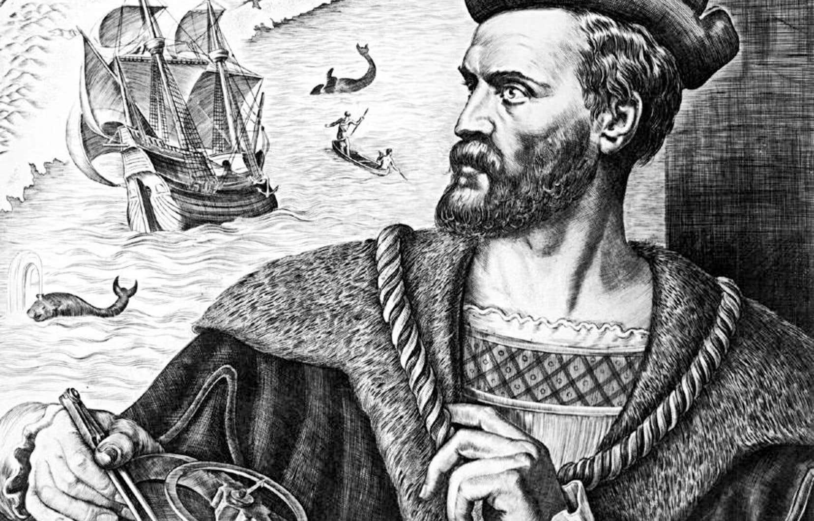 Dans ses écrits, Jacques Cartier désignait le fleuve qu'il avait exploré sous le nom de « grand fleuve de Hochelaga ». C'est seulement à la baie qu'il a donné le nom de Saint-Laurent.