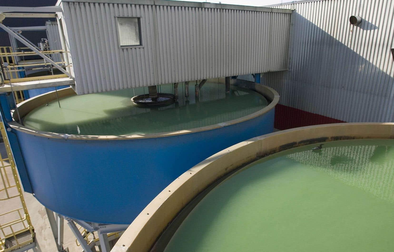 Uranium à la mine de McClean Lake, en Saskatchewan.