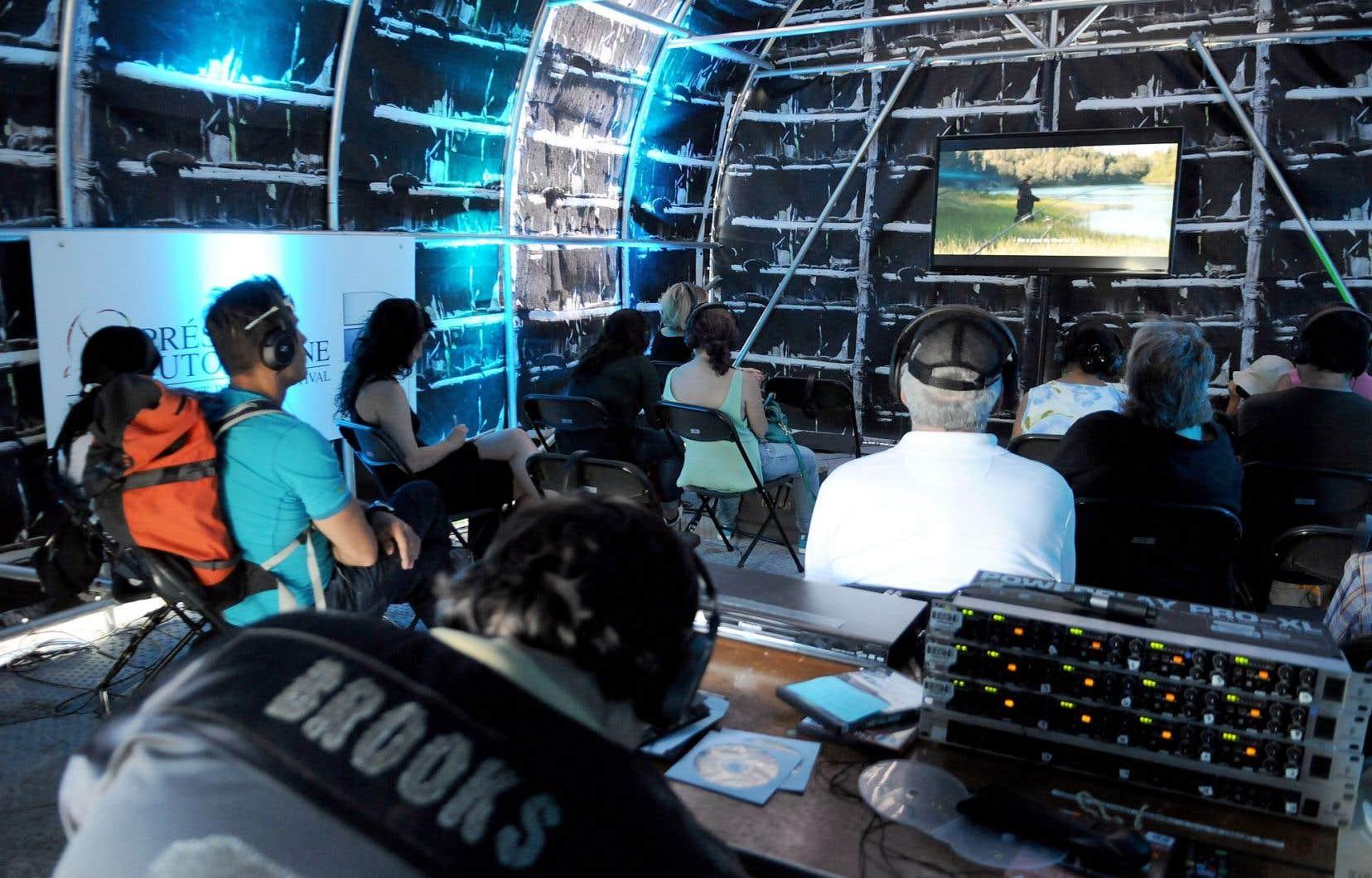 La programmation cinématographique du festival est variée, comprenant des films d'ici, mais aussi d'Amérique du Sud et d'autres pays.