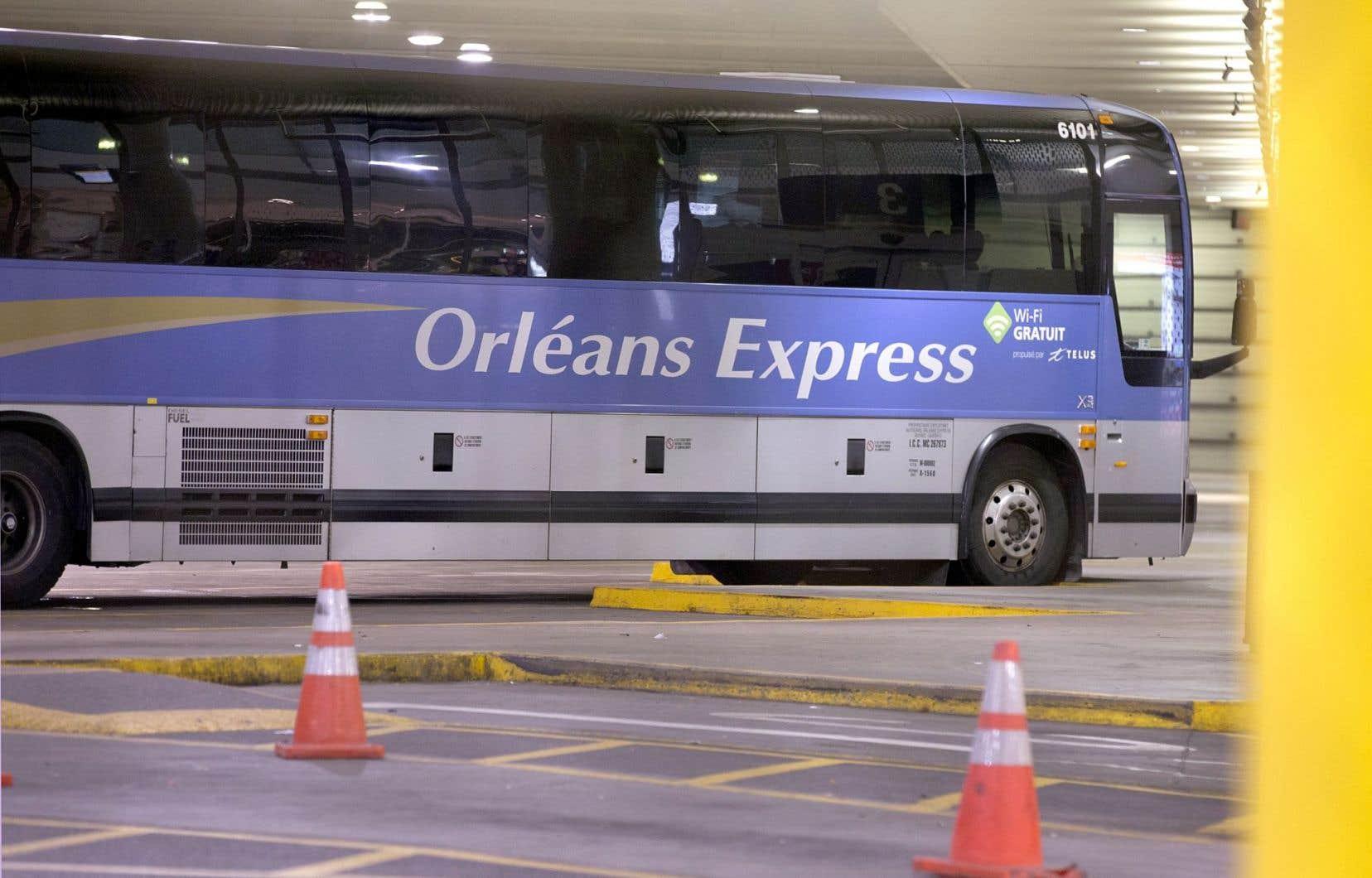 Le transporteur interrégional Orléans Express se concentre depuis janvier sur la liaison des grands centres, comme Montréal-Québec, qui conserve 17 départs par jour.