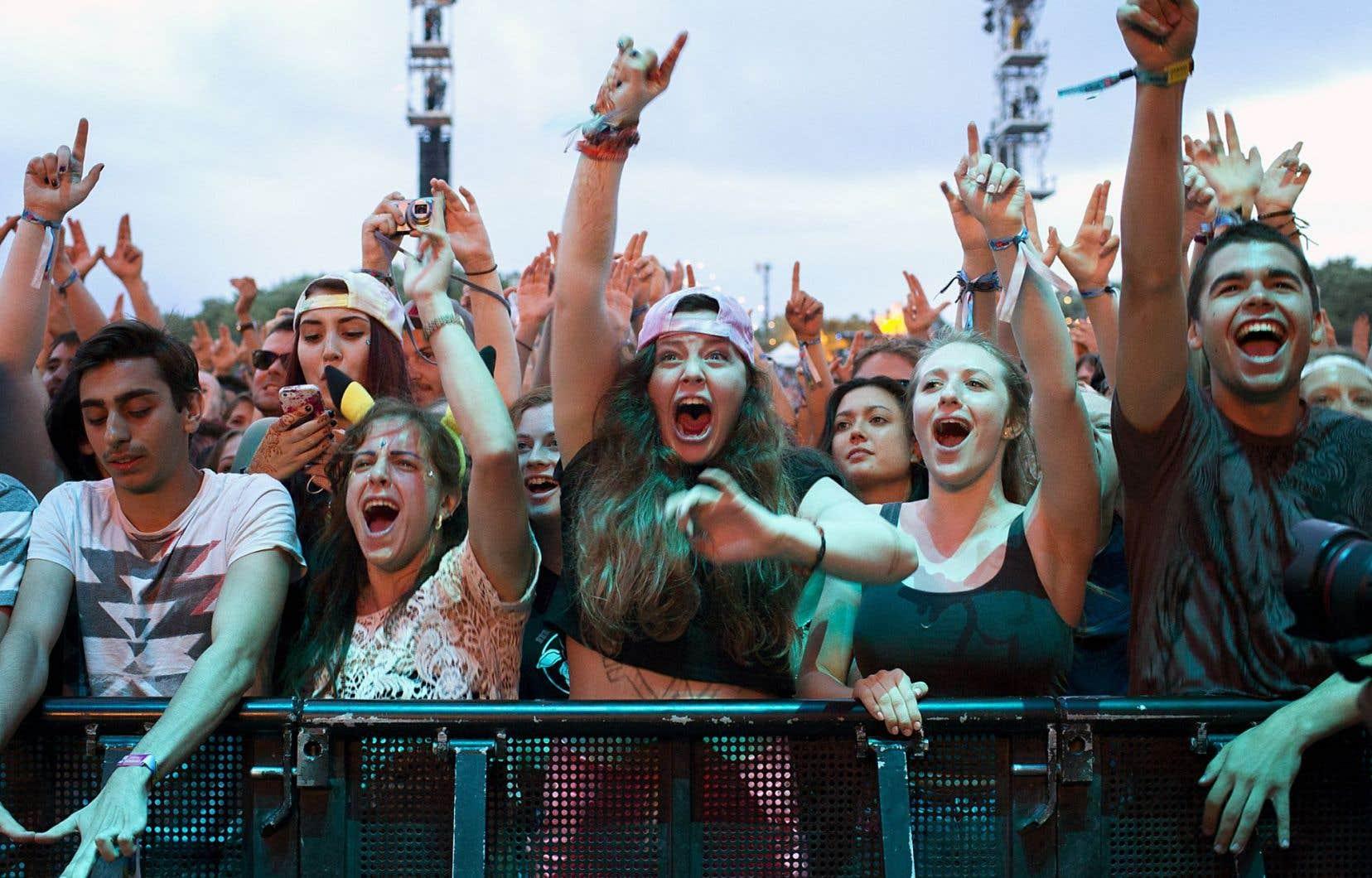 Pour cette 10eédition, le festival Osheaga a attiré 135000 festivaliers.