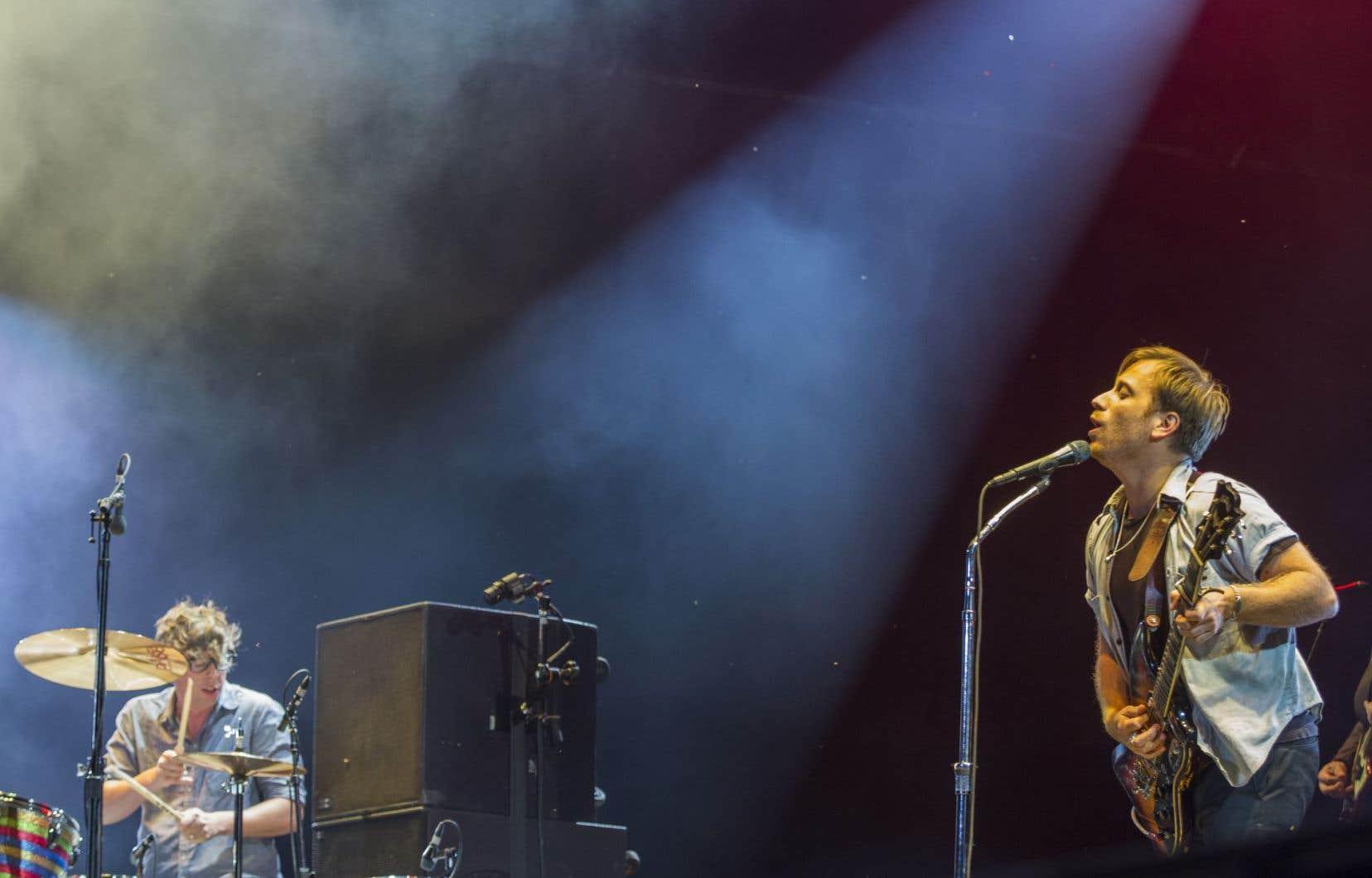 Le mordant duo rock-blues Black Keys a clôturé le festival.