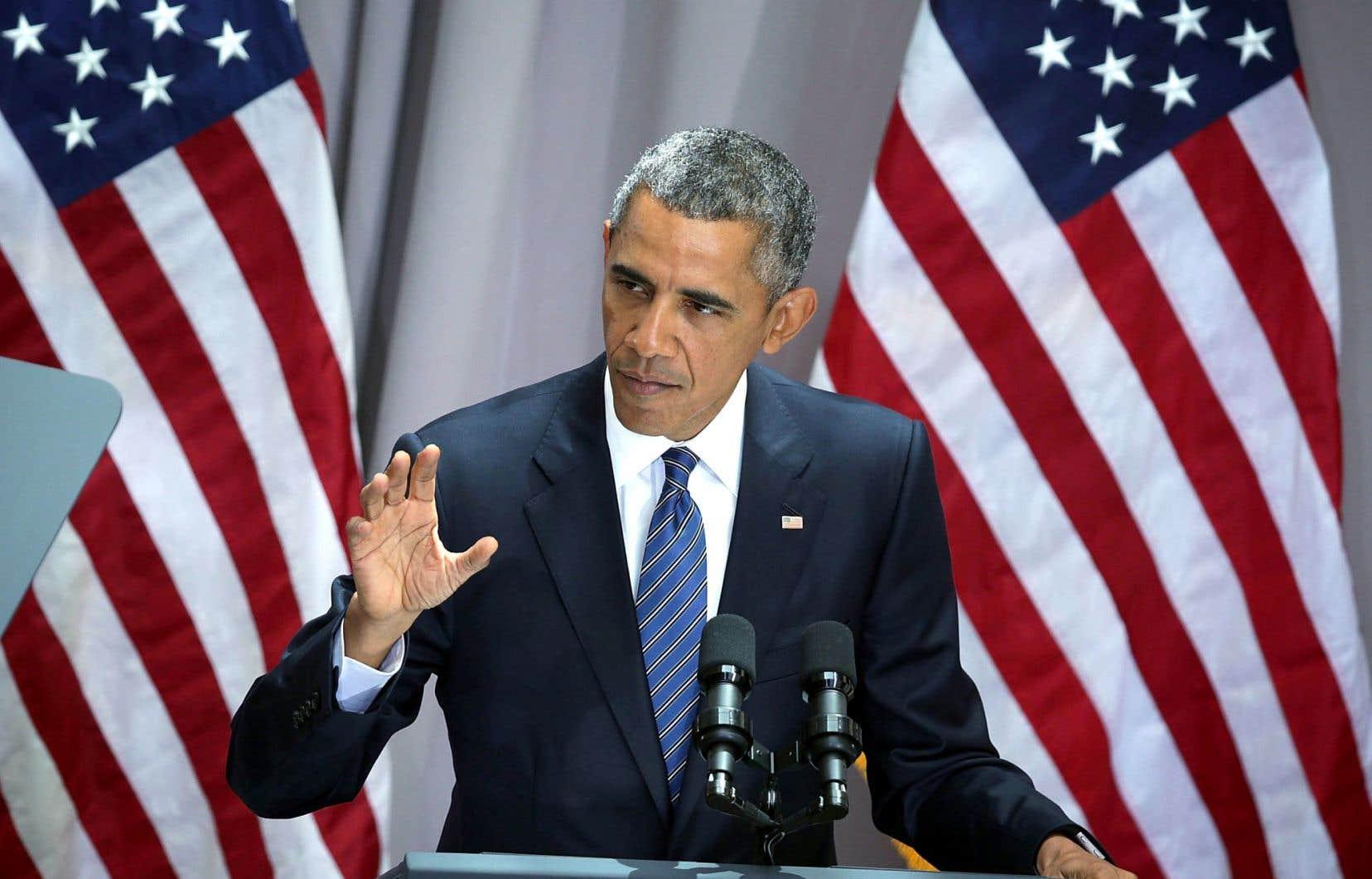 Barack Obama a prononcé son long discours à l'Université américaine de Washington.