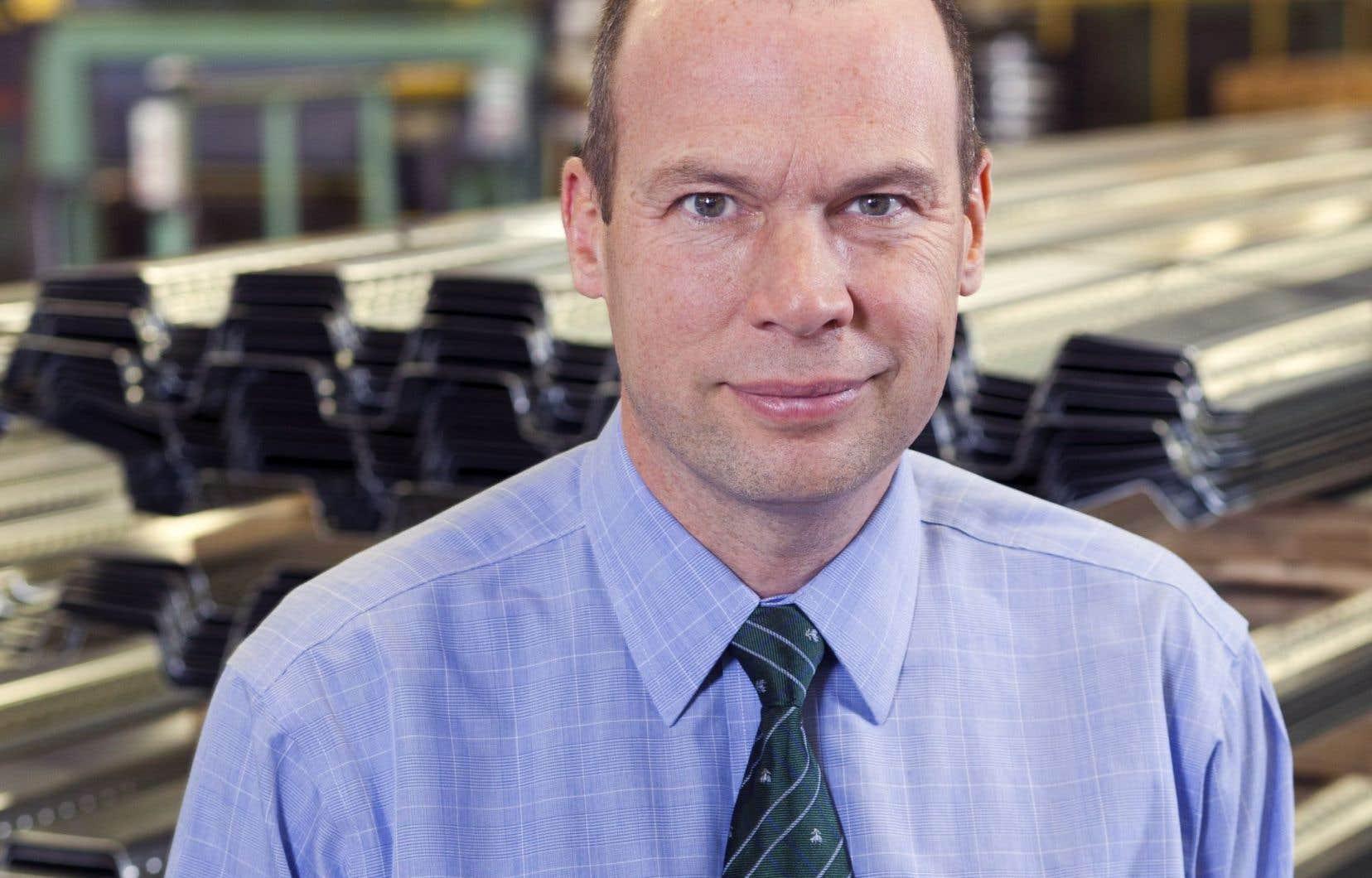 Le président et chef de la direction du Groupe Canam, Marc Dutil