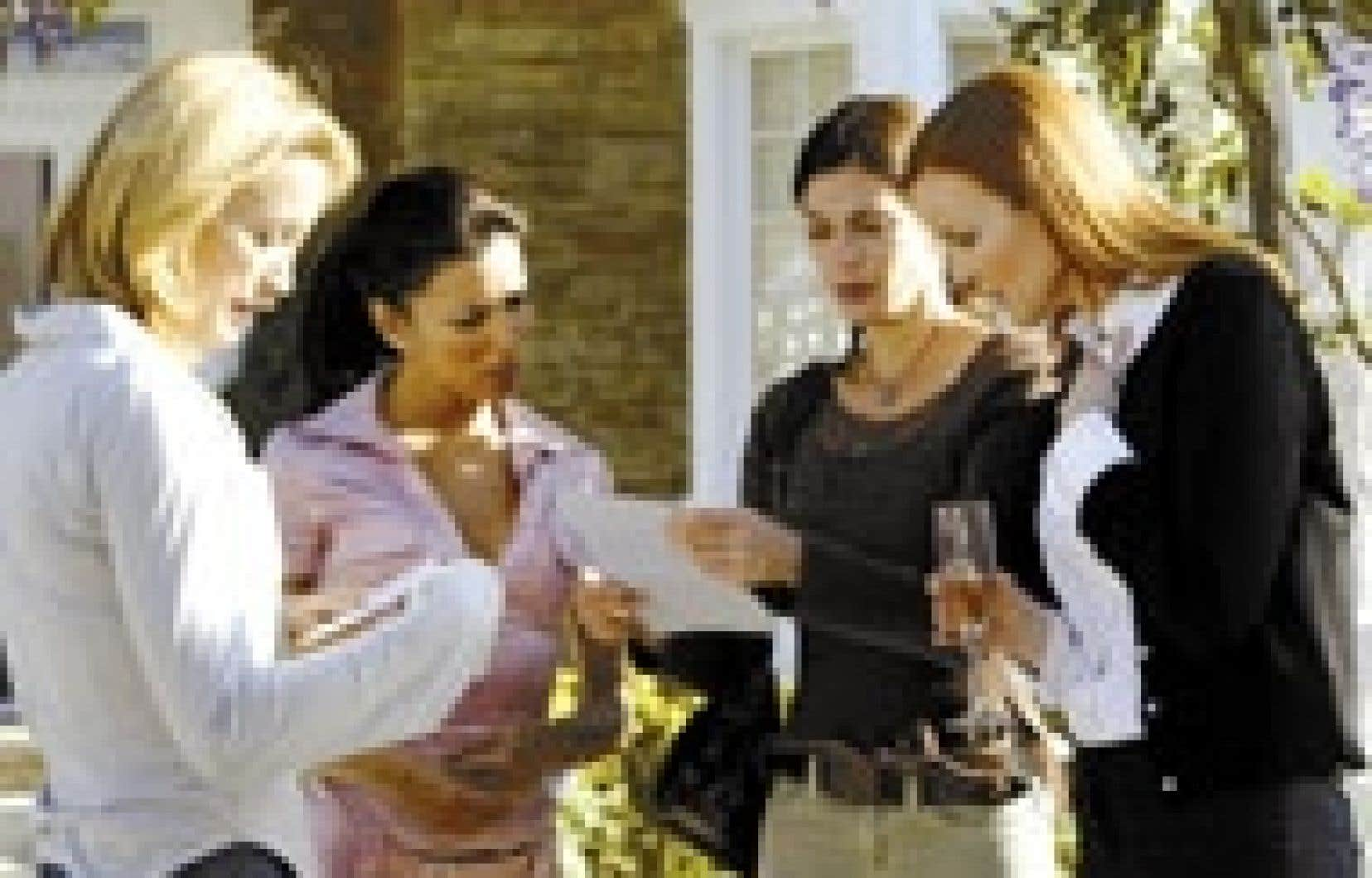 Source: Radio-Canada Les beautés désespérées de la télésérie américaine Desperate Housewives ont une solide matante intérieure qui se dissimule derrière un physique trompeur.