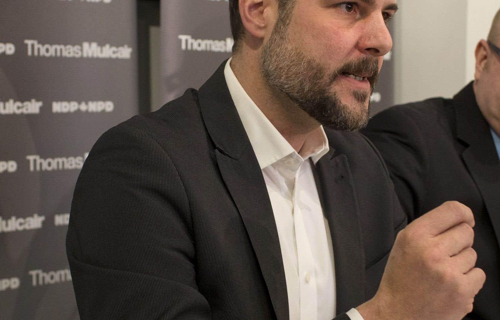 Le député sortant de Rosemont–La Petite-Patrie, Alexandre Boulerice