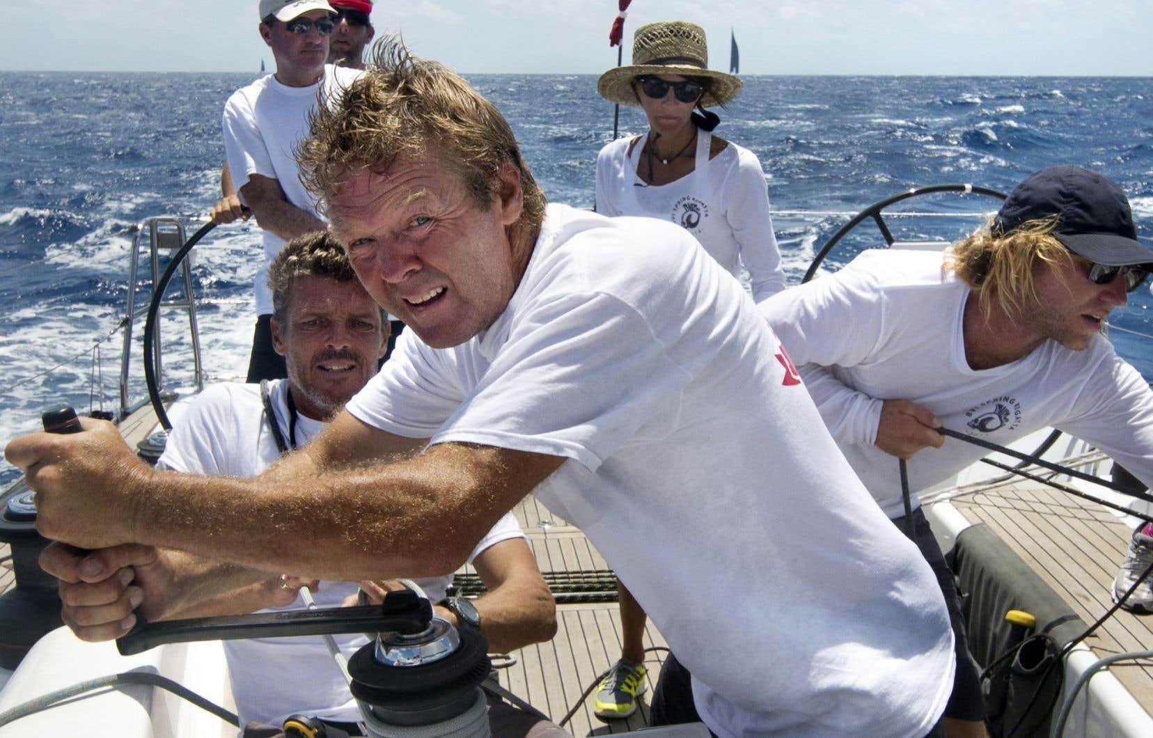 Plus de mille marins du monde entier se retrouvent chaque année à Saint-Barthélemy, dans les Antilles, pour quatre jours de régates.