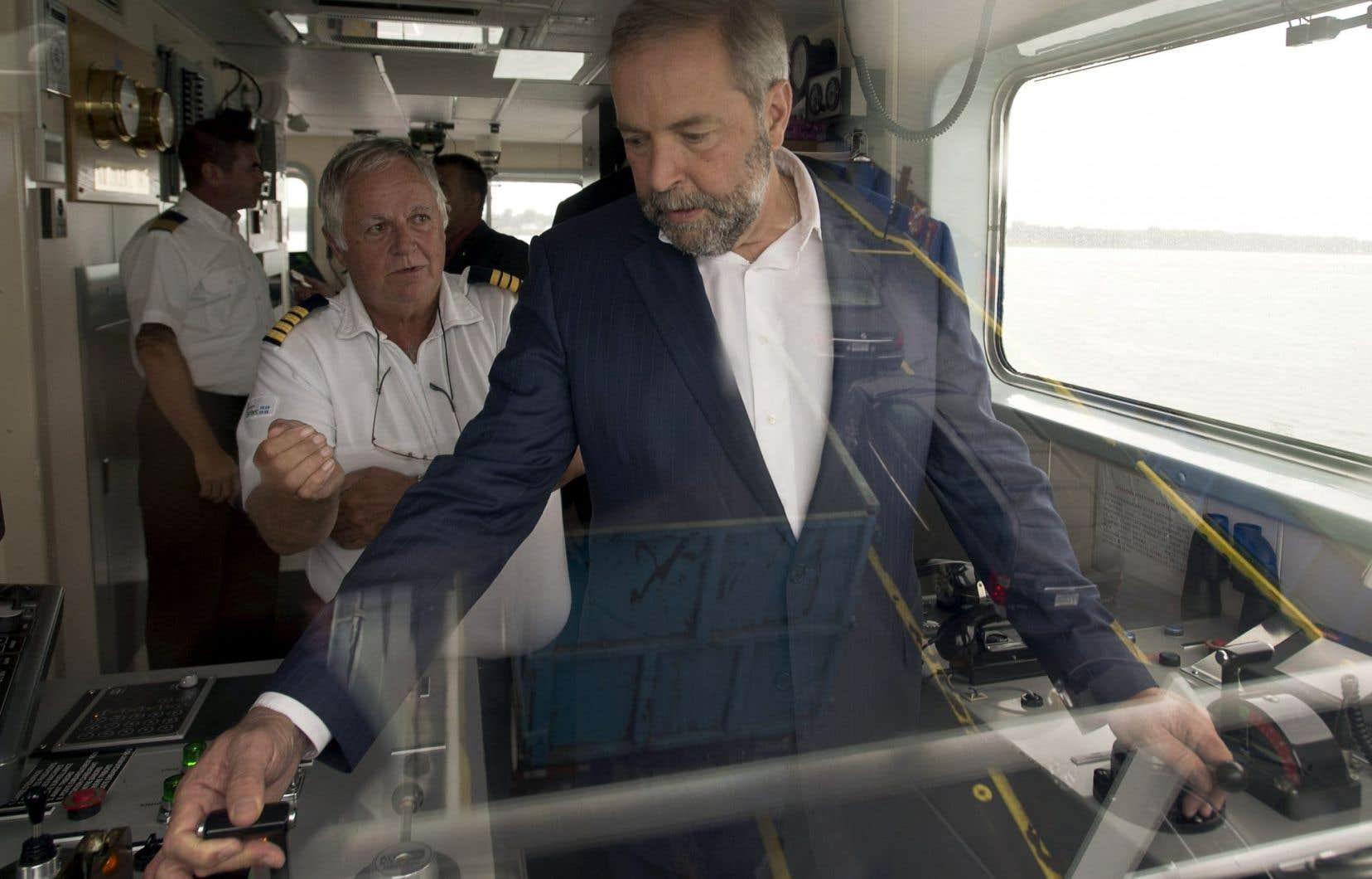 Près de deux semaines après le lancement de la campagne électorale, Thomas Mulcair semble bien aux commandes de la course, en avance dans les sondages — tant au Québec que dans l'ensemble du Canada.