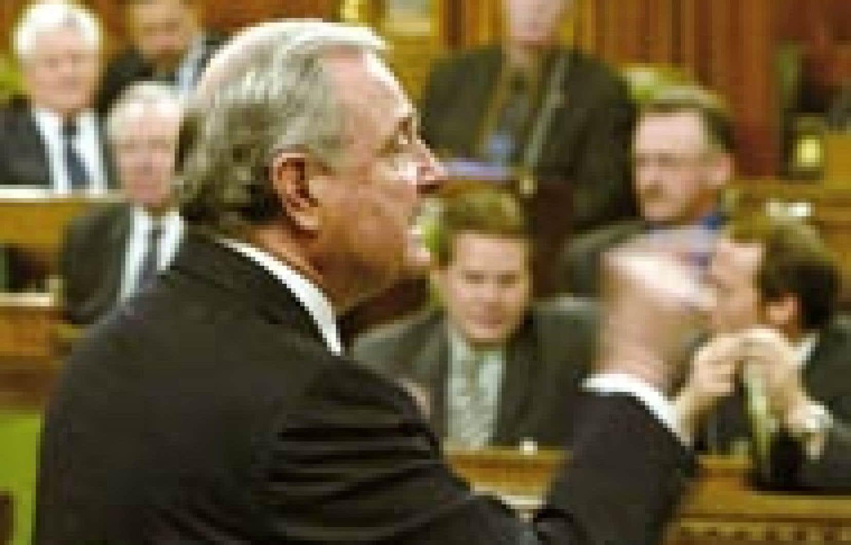 Le premier ministre a dû faire face aux questions de l'opposition cette semaine à la Chambre des communes. Jim Young, Reuters