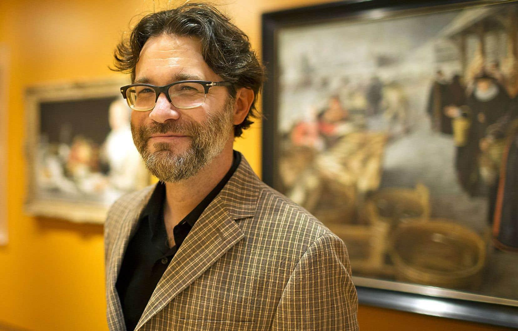 Malgré la dizaine de titres qu'il a publiés, Maxime Olivier Moutier ne se considère pas comme un écrivain.