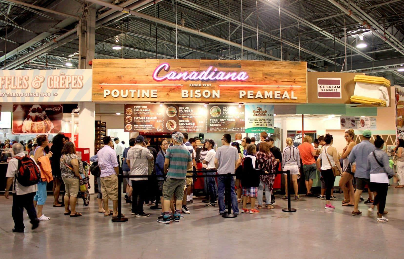 La poutine était omniprésente samedi dernier à la fête foraine de la Canadian National Exhibition de Toronto, signe que la population l'a définitivement adoptée.