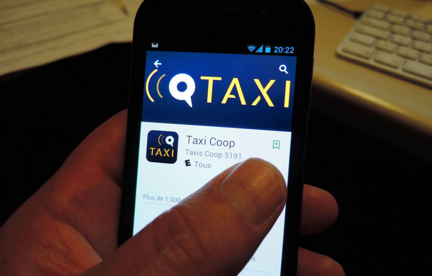 L'application Taxi Coop