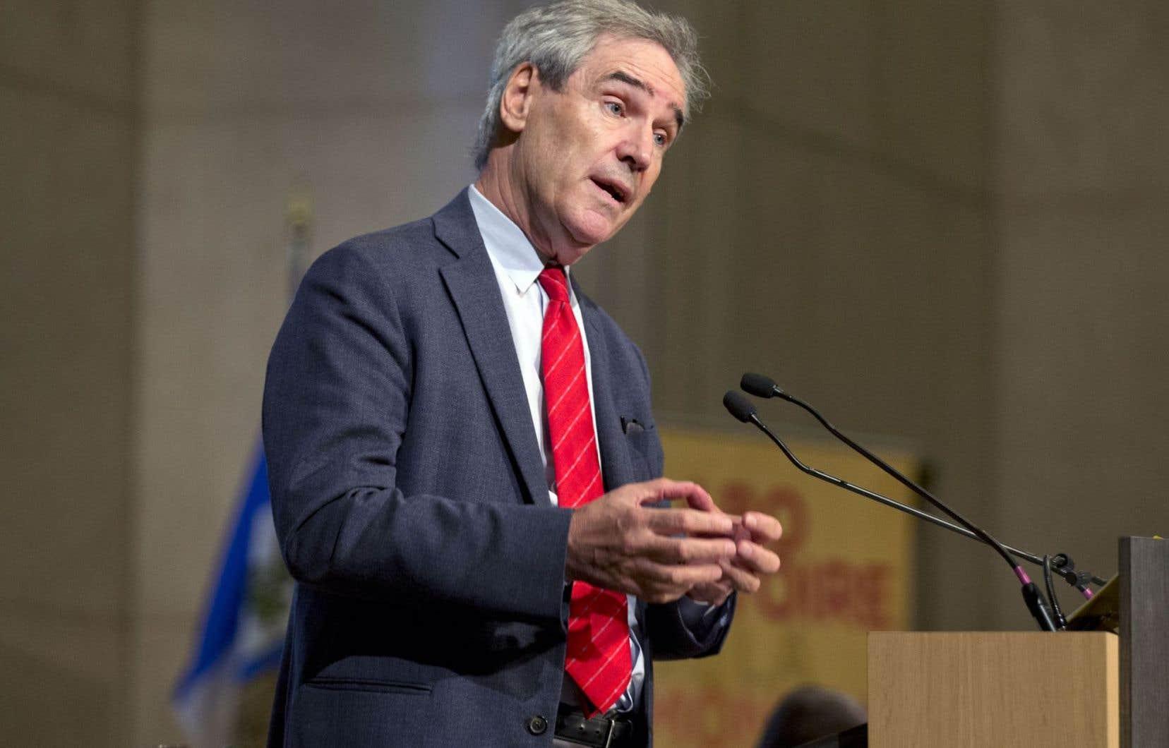L'ancien chef libéral Michael Ignatieff