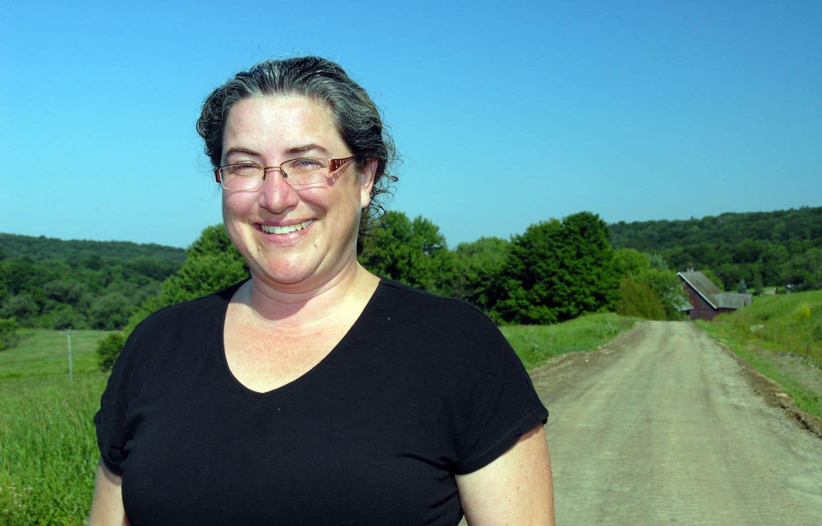 «Nous avons eu beaucoup d'eau et beaucoup de chaleur cette année, alors nous aurons des pommes de bon calibre», affirme Stéphanie Levasseur, présidente de la Fédération des producteurs de pommes du Québec.