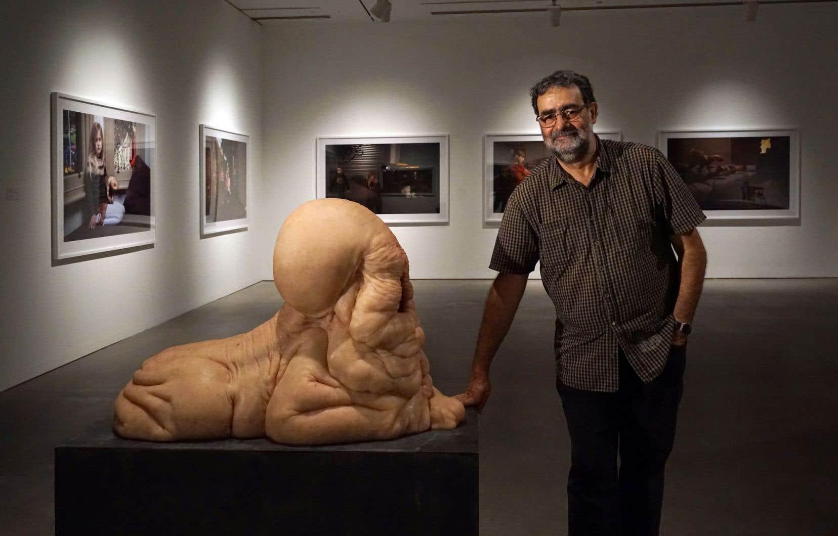 Le commissaire de l'exposition, Joan Fontcuberta