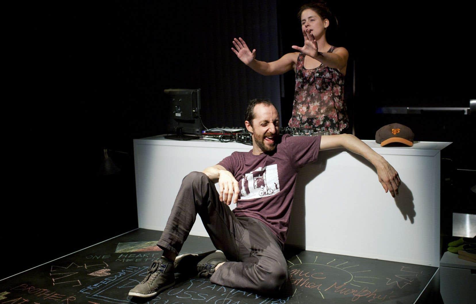 Jean-Philippe Lehoux et Sarah Laurendeau