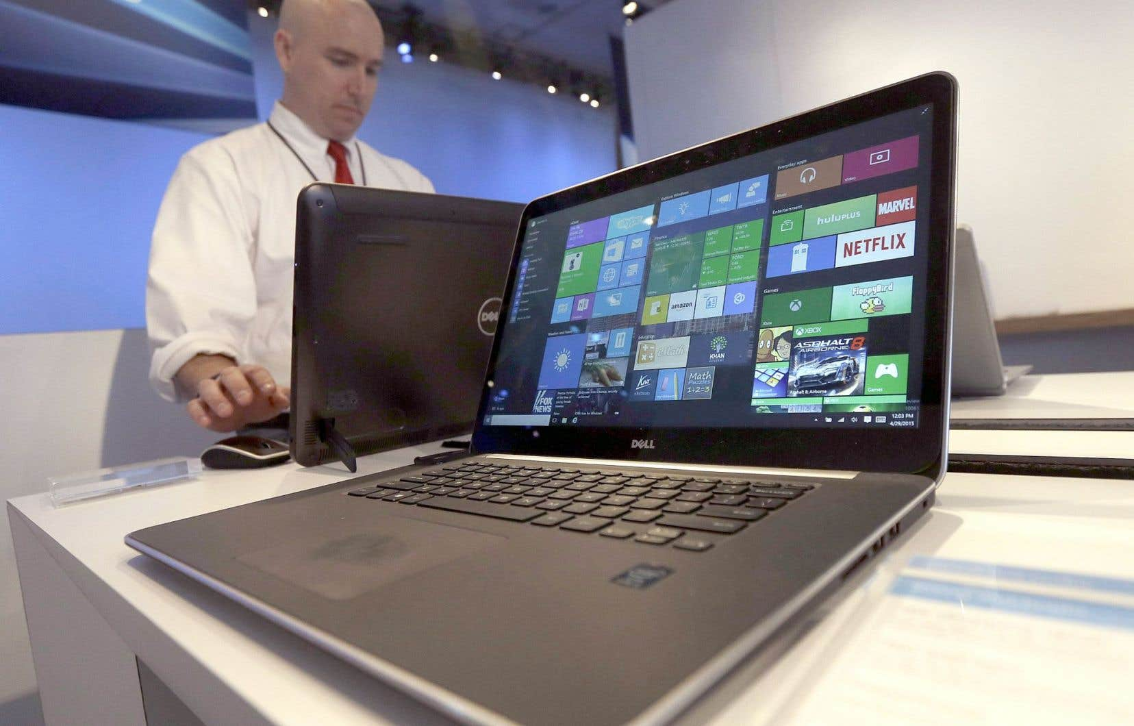Le système d'exploitation Windows 10