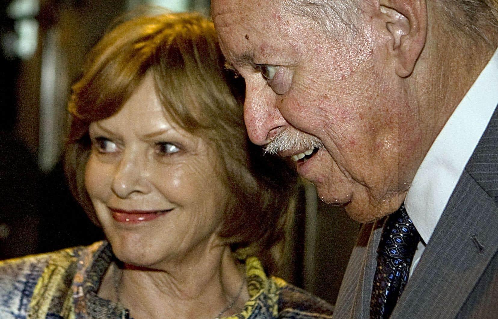 Lisette Lapointe et Jacques Parizeau