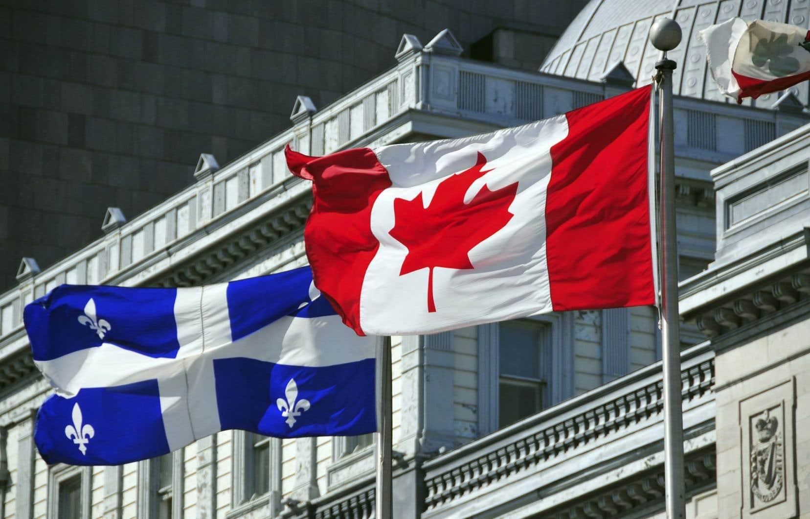 Le projet d'indépendance du Québec représente essentiellement la volonté que les Québécois gèrent eux-mêmes ce qui relève actuellement de la juridiction fédérale.
