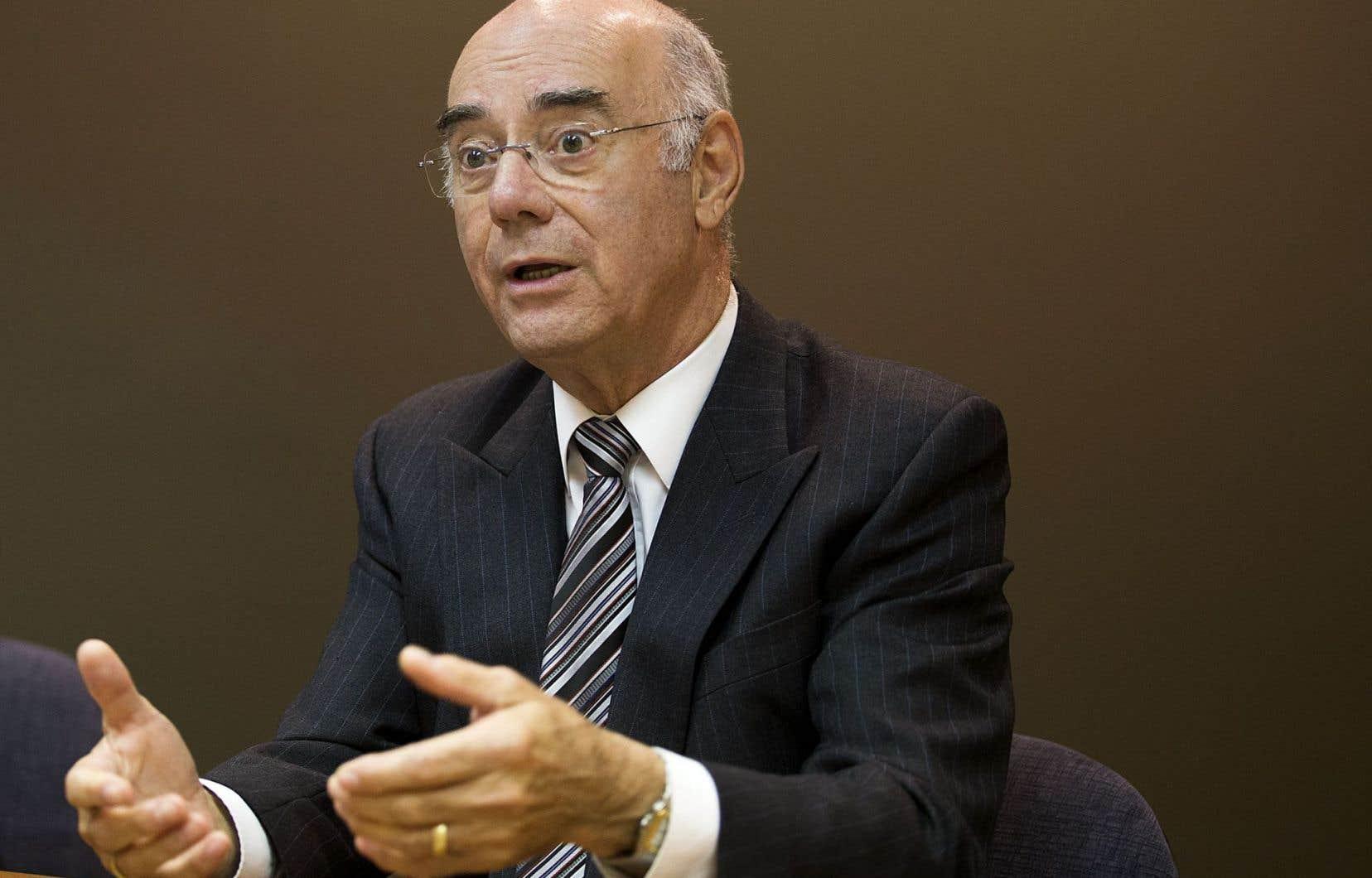 Le ministre de l'Économie, de l'Innovation et des Exportations,Jacques Daoust