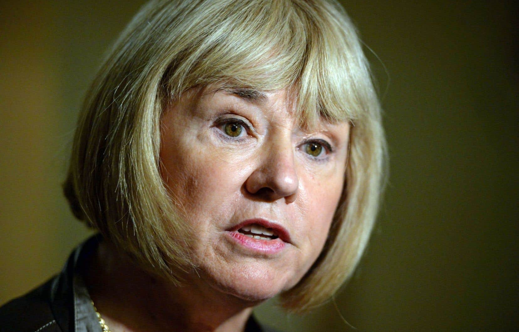 La sénatrice libéraleCéline Hervieux-Payette