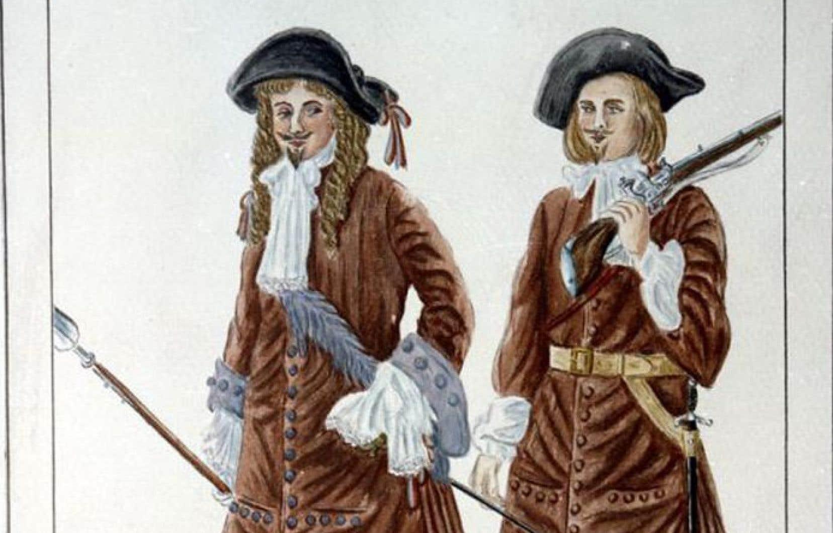 En 1660, 1300 soldats du régiment Carignan-Salières partent conquérir le territoire au bénéfice d'une société qui ne compte alors guère plus de 3500 personnes.