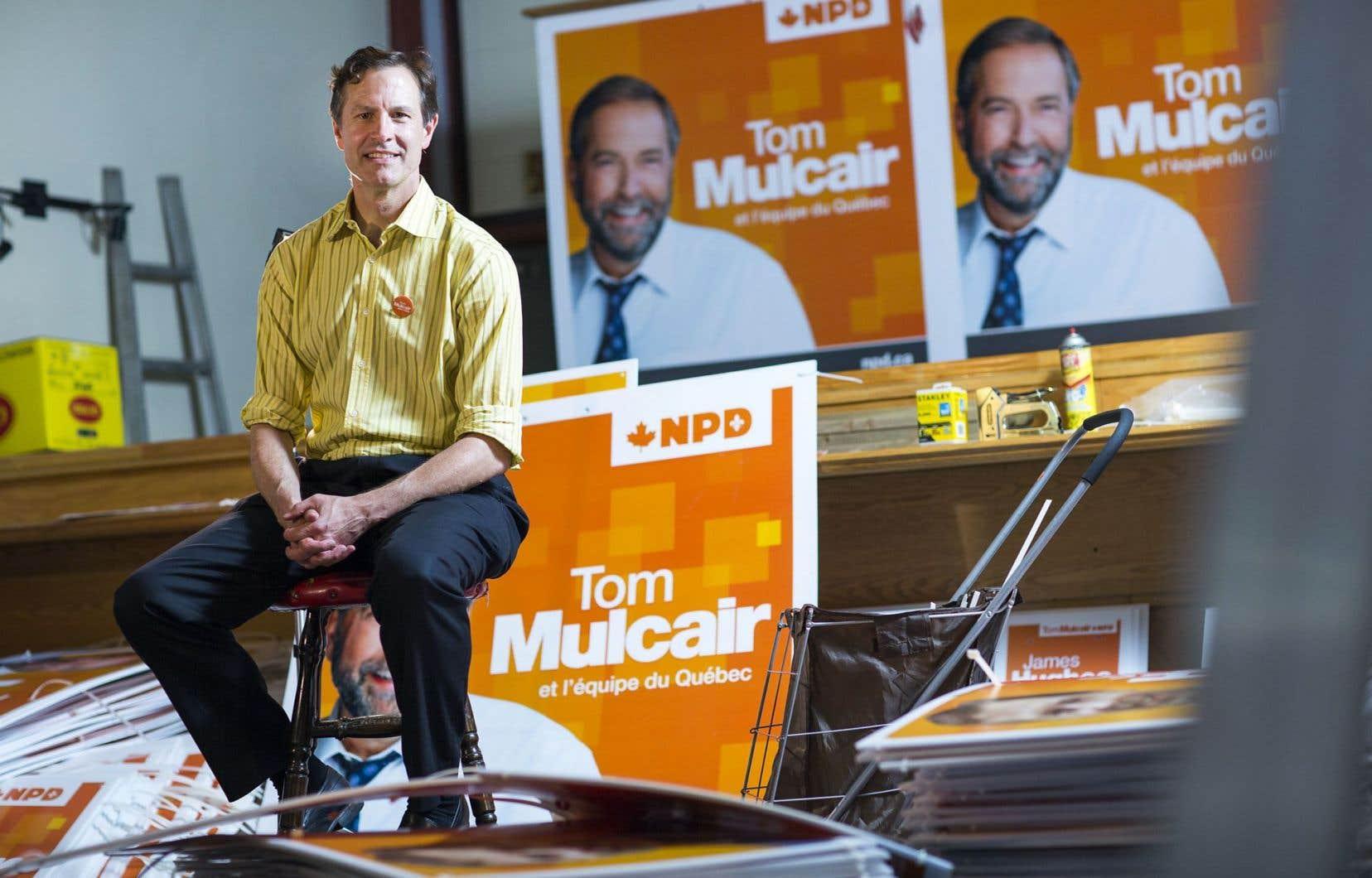 James Hughes (NPD) et Marc Garneau (PLC) sont des candidats «ministrables». Tous deux comptent cependant sur des vents favorables à leur parti pour l'emporter.