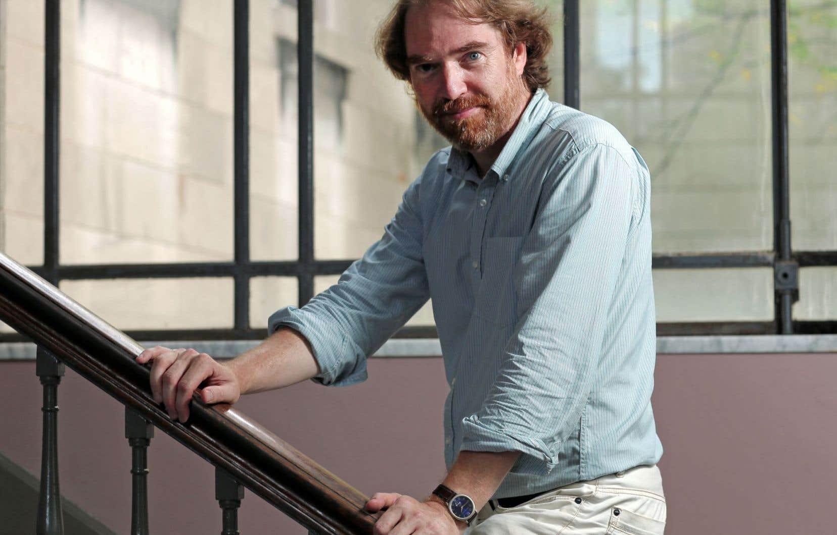 Michel Biron, professeur de littérature et essayiste québécois