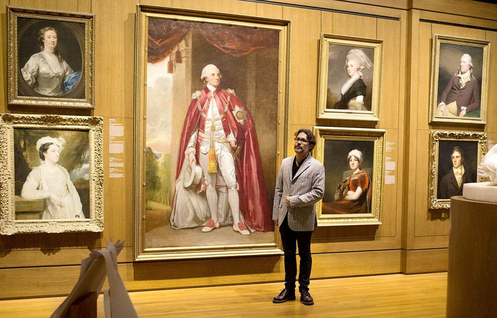 Maxime Olivier Moutier décide à 37ans de faire un retour aux études en s'inscrivant au certificat en histoire de l'art.