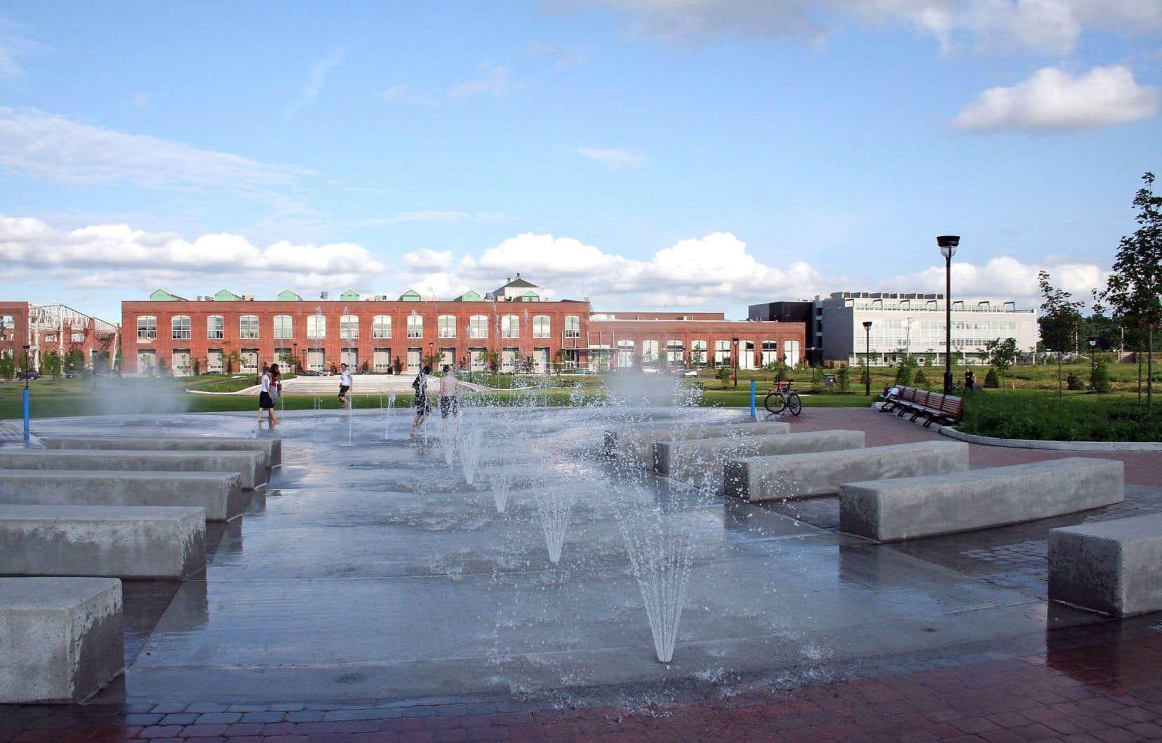 L'un des exemples de développement écoresponsable dans lequel s'est impliqué Fondaction est le Technopôle Angus (photo: parc Jean-Duceppe).