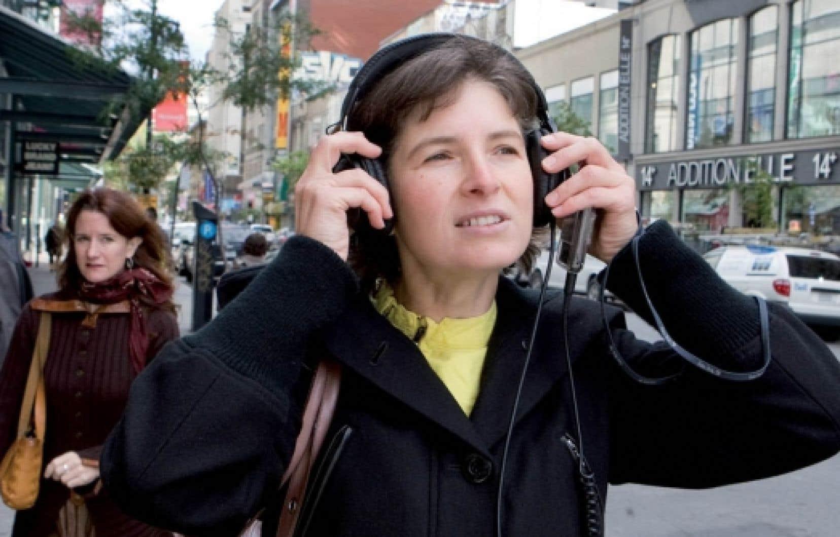 E?dith Normandeau, une des membres fondateurs d'Audiotopie